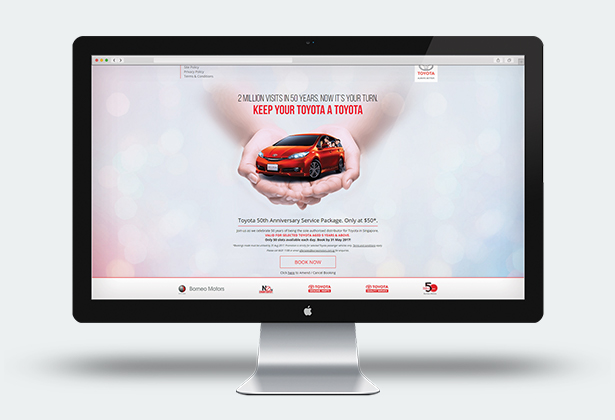 Toyota Microsite